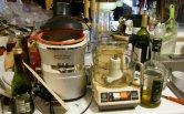 robot kuchenny w częściach